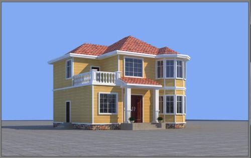 轻钢别墅造型