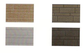 金属雕花板条纹