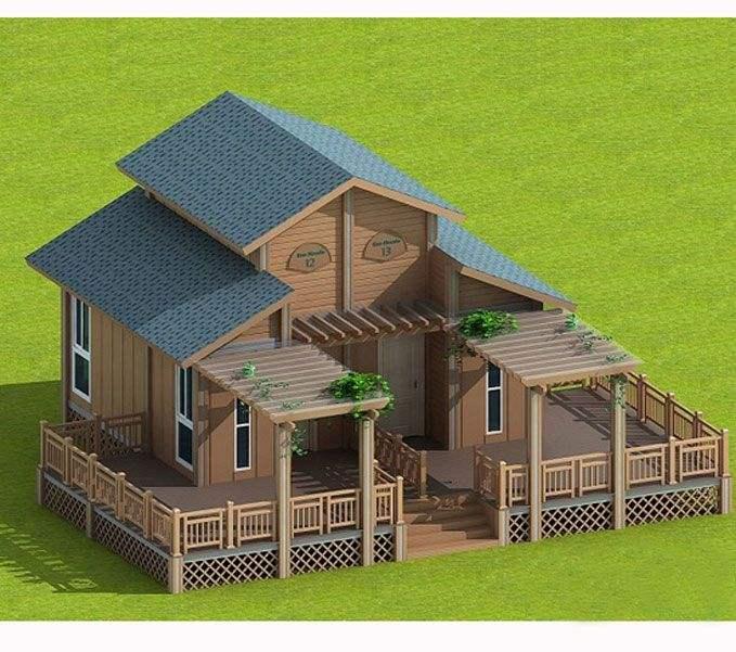 集成房屋安装